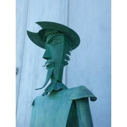 Escultura Quijote